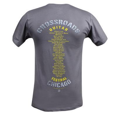 Eric Clapton 2010 Crossroads Chicago T-Shirt