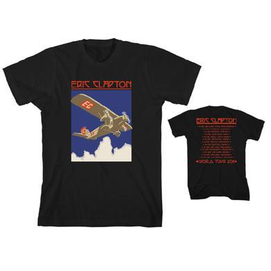 Eric Clapton Retro Plane T-Shirt