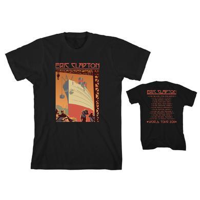 Eric Clapton Retro Ship T-Shirt