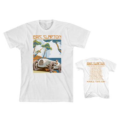 Eric Clapton Retro Car T-shirt