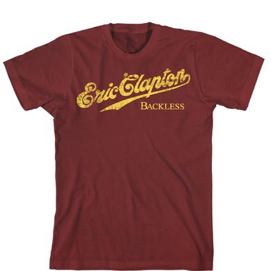 Eric Clapton Limited Edition Backless European Tour T-shirt