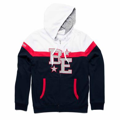 Brett Eldredge BE Custom Zip Hoodie