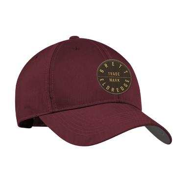 Brett Eldredge Trademark Circle Maroon Hat