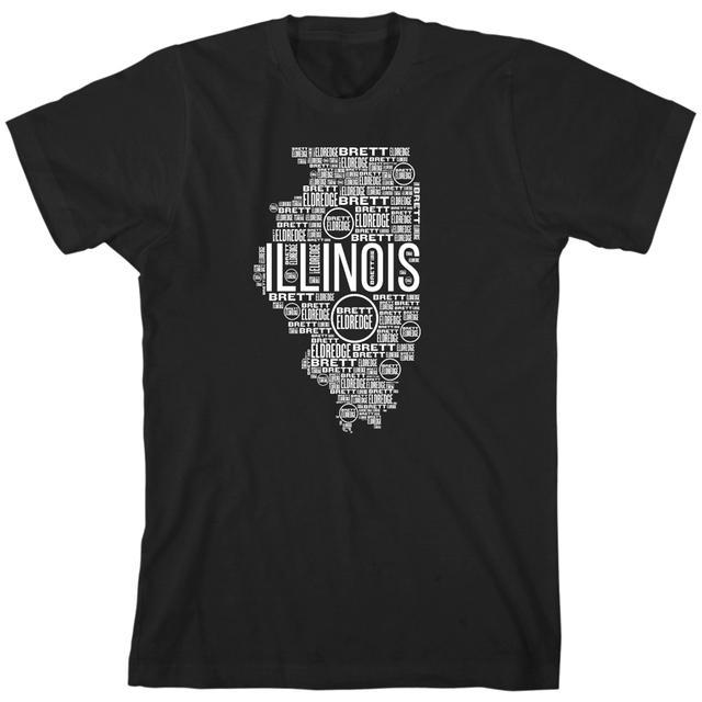 Brett Eldredge Illinois T-Shirt