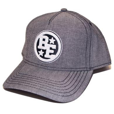 Brett Eldredge Grey BE Logo Hat