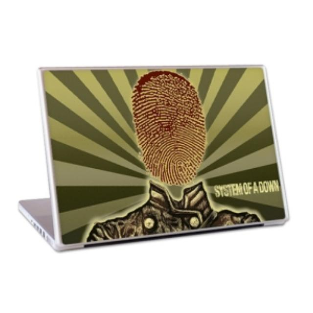 "System Of A Down Thumbprint Soldier 13"" Lap Top Skin"