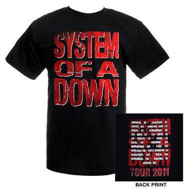 System Of A Down Tour Tee