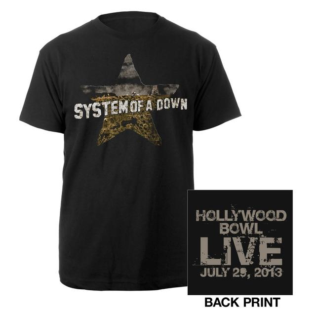 System Of A Down Hollywood Bowl Event Tee