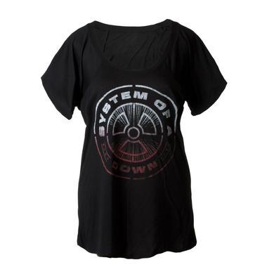 System Of A Down SOAD Nuclear Scoop Neck Ladies Tee