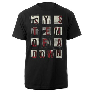 System Of A Down SOAD Alpha Box Tee