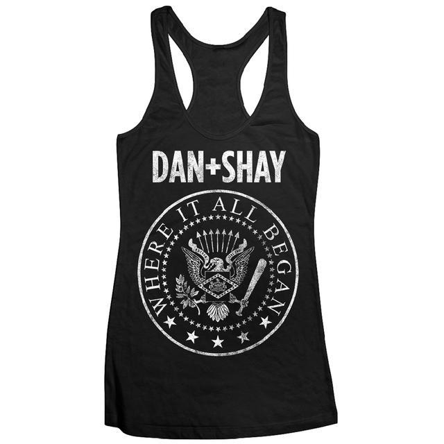Dan + Shay Rock 'N Roll Racerback Tank