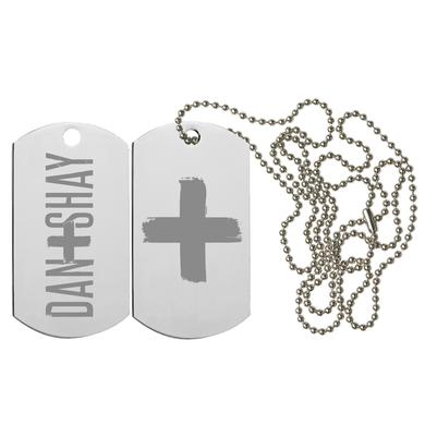 Dan + Shay D+S Dog Tag Necklace
