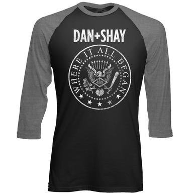 Dan + Shay Rock 'N Roll Baseball T-Shirt