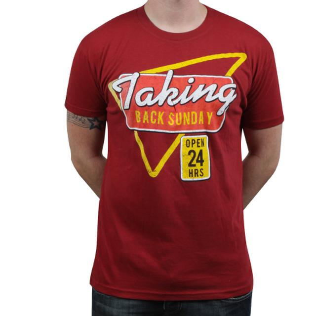 Taking Back Sunday Open 24 Hours T-Shirt