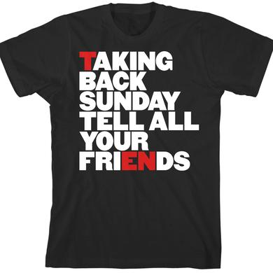 Taking Back Sunday Word of Mouth T-Shirt