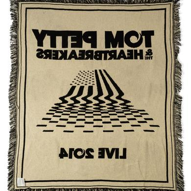 Tom Petty and the Heartbreakers Flag Woven Blanket