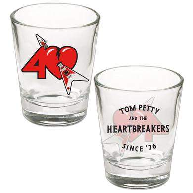 Tom Petty and the Heartbreakers 40th Anniversary Shot Glass