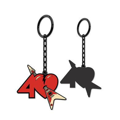 Tom Petty and the Heartbreakers 40th Anniversary Keychain