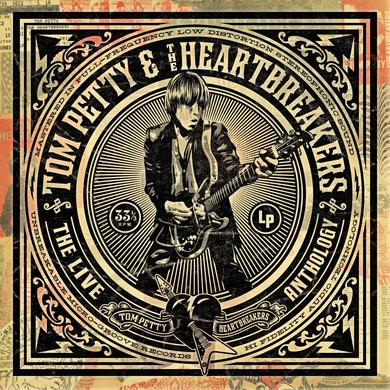 Tom Petty and the Heartbreakers The Live Anthology (4CD)