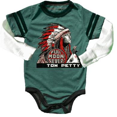 Tom Petty and the Heartbreakers FULL MOON FEVER BABY ONESIE BY ROWDY SPROUT