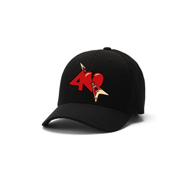 Tom Petty and the Heartbreakers Heartbreakers 40th Anniversary Logo Hat