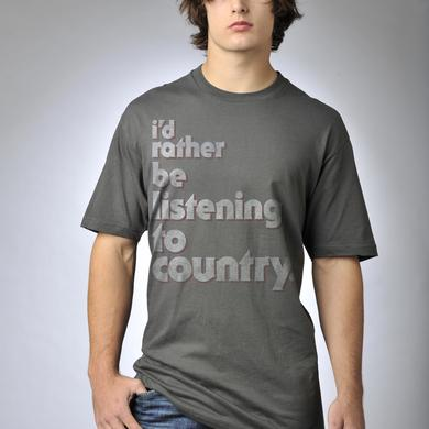 Kiss My Country Ass I'd Rather Be T-Shirt
