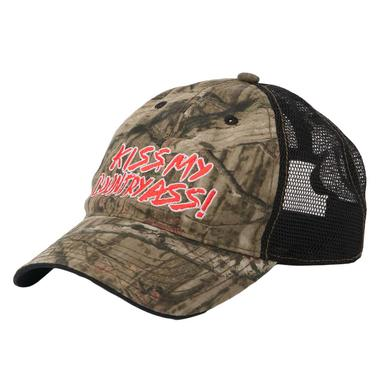 Kiss My Country Ass Camo Hat