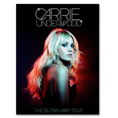 Carrie Underwood Official Blown Away Tour Poster