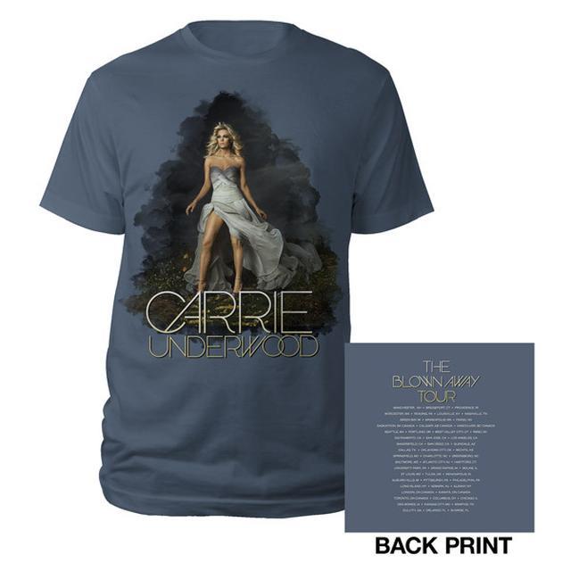 Carrie Underwood Blown Away Album Cover Tour Tee