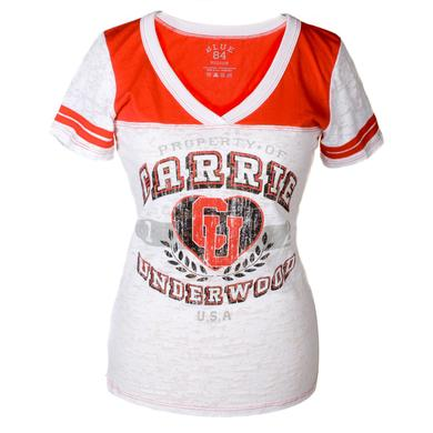 Carrie Underwood Burnout Football Tee
