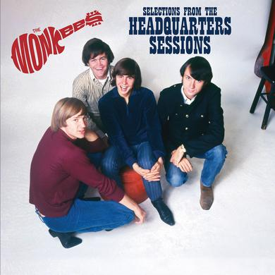 The Monkees Selections From The Headquarters Sessions  (Limited Edition Red Vinyl - 1LP)