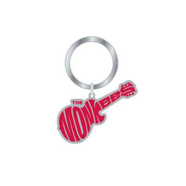 The Monkees Metal Keychain Guitar