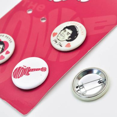The Monkees 2013 Faces Button Pack