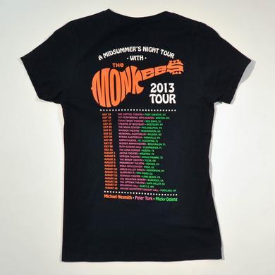 The Monkees OFFICIAL 2013 TOUR JUNIORS SHIRT