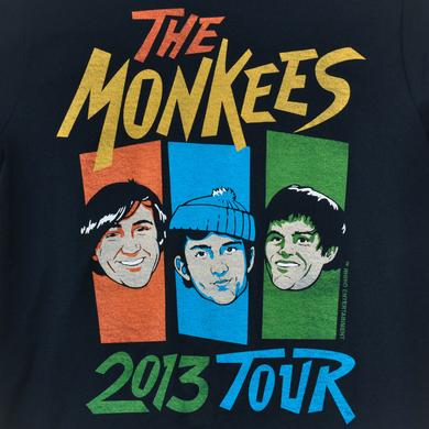 The Monkees OFFICIAL 2013 TOUR SHIRT (COLOR BARS VERSION)