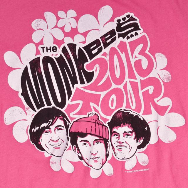 The Monkees OFFICIAL 2013 TOUR LOGO JUNIORS SHIRT