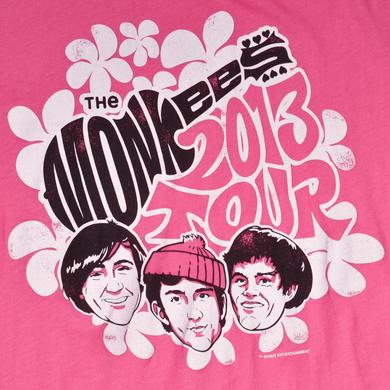 The Monkees OFFICIAL 2013 TOUR LOGO JUNIORS SHIRT