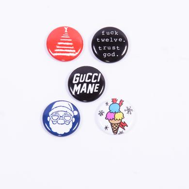 Gucci Mane Button Pack