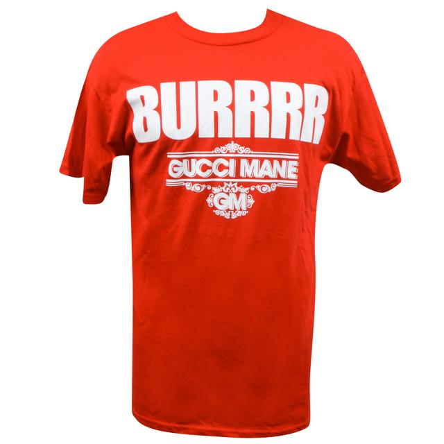 Gucci Mane BURRRR Red T-Shirt