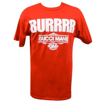 Gucci Mane BURRRR Red T-Shirt