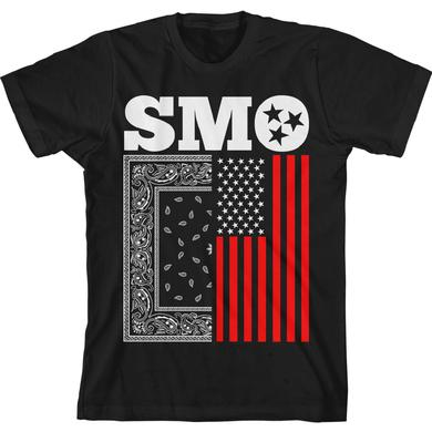 Big Smo Paisley Flag T-Shirt