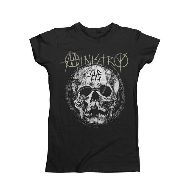 Ministry Maggot Skull Women's T-Shirt