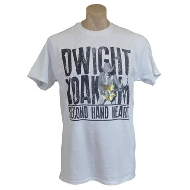 Dwight Yoakam Second Hand Heart Gold Guitar T-Shirt