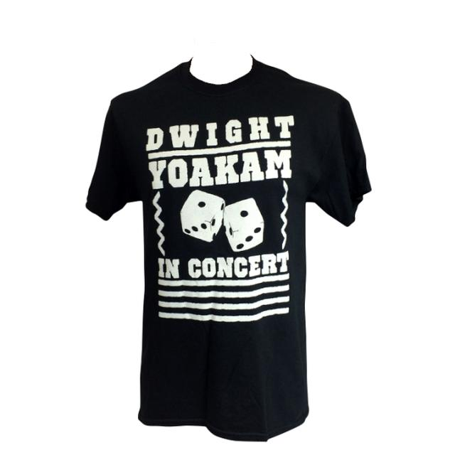 Dwight Yoakam Black Dice Live T-Shirt