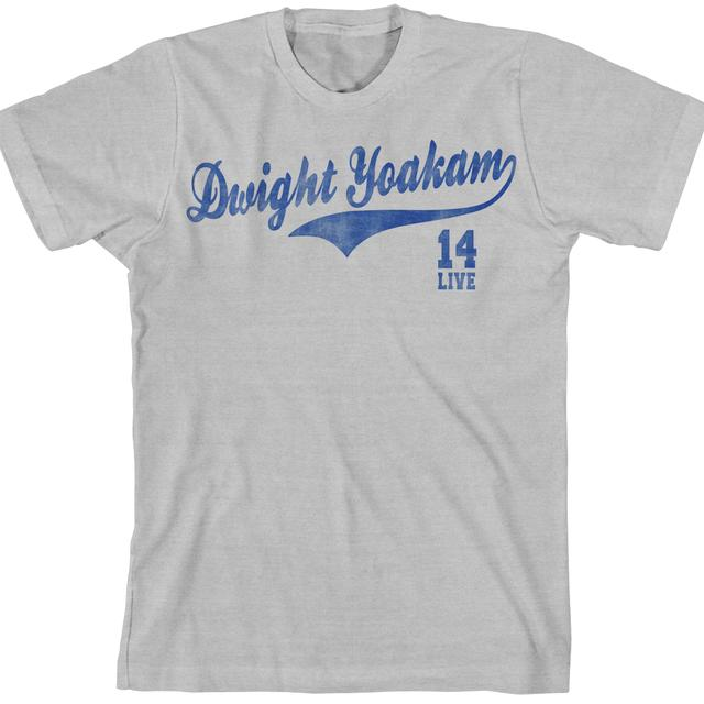 Dwight Yoakam Sporty Grey 2014 T-Shirt