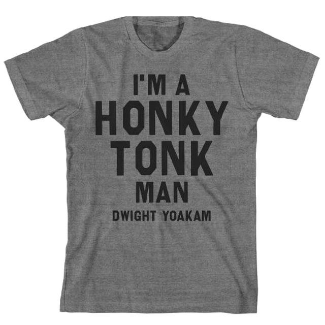 Dwight Yoakam Honky Tonk Text T-Shirt