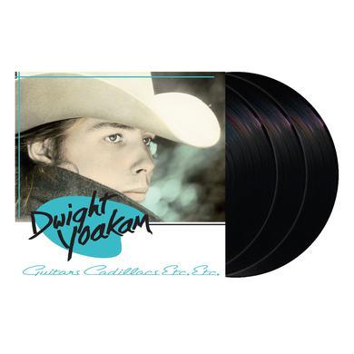 Dwight Yoakam Guitars, Cadillacs, Etc., Etc. 3LP Vinyl