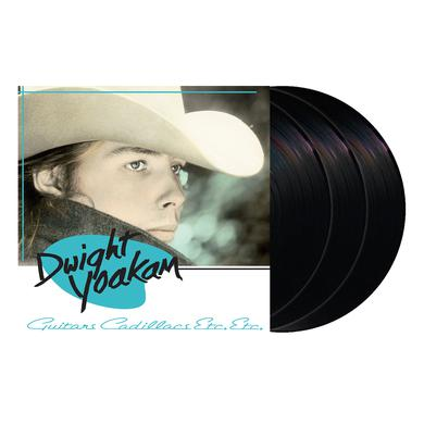 Dwight Yoakam Guitars, Cadillacs, Etc., Etc. 3LP Vinyl
