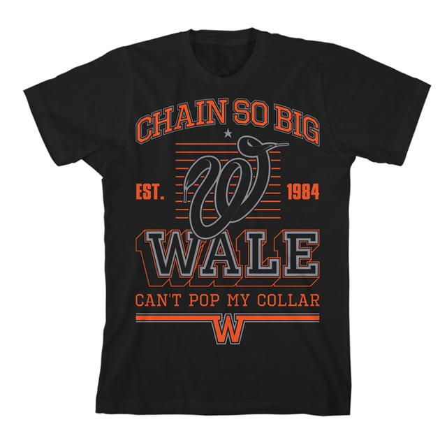 Wale Chain Striper Slim T-Shirt