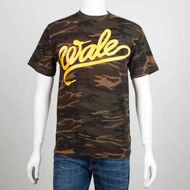 Wale W Camo T-Shirt